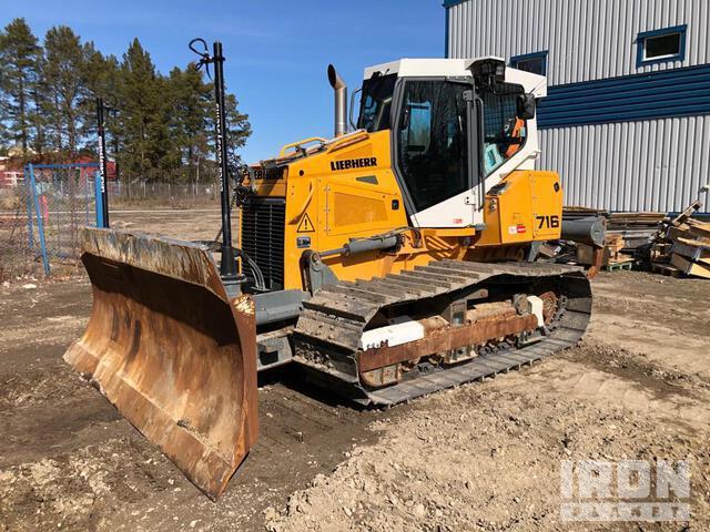 2019 Liebherr PR716 LGP Crawler Dozer, Crawler Tractor