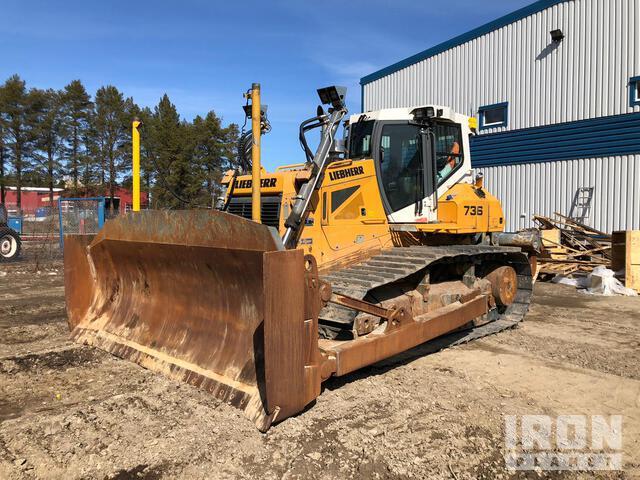 2019 Liebherr PR736 LPG Crawler Dozer, Crawler Tractor