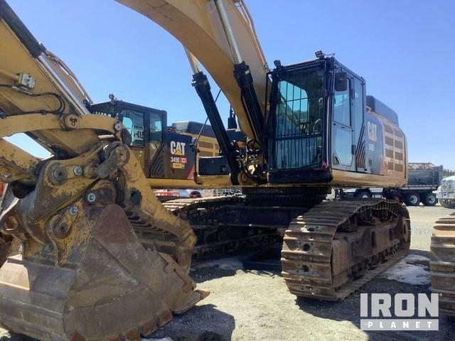 2014 Cat 349EL Track Excavator, Hydraulic Excavator