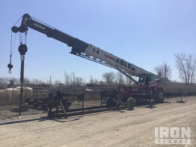 Link-Belt RTC-8075 4x4 Rough Terrain Crane, Rough Terrain Crane