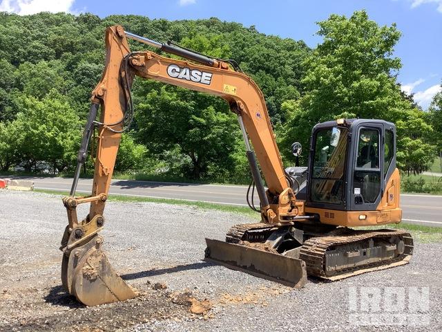 2013 Case CX80C Mini Excavator, Mini Excavator (1 - 4.9 Tons)