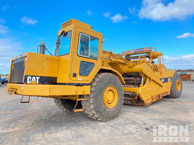 1989 Cat 615C Elevating Motor Scraper, Motor Scraper