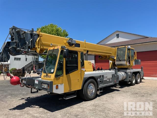 2000 (unverified) Grove TMS540 Hydraulic Truck Crane, Hydraulic Truck Crane