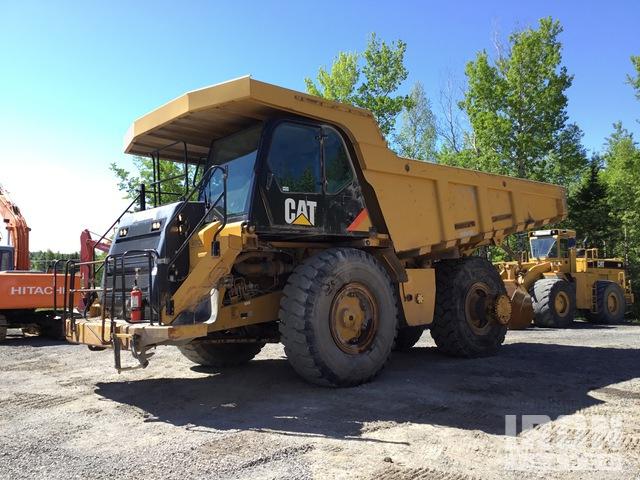 2011 Cat 773F Off-Road End Dump Truck, Rock Truck