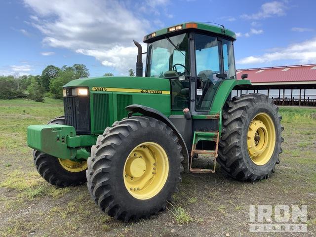 2000 John Deere 7810 4WD Tractor, MFWD Tractor