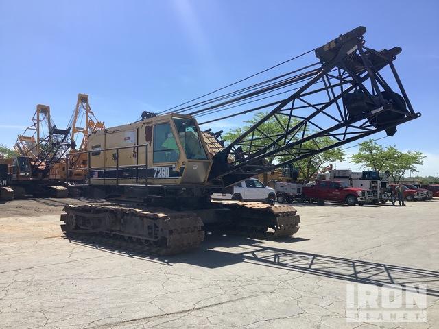 1981 American 7260 200000 lb Lattice-Boom Crawler Crane, Crawler Crane