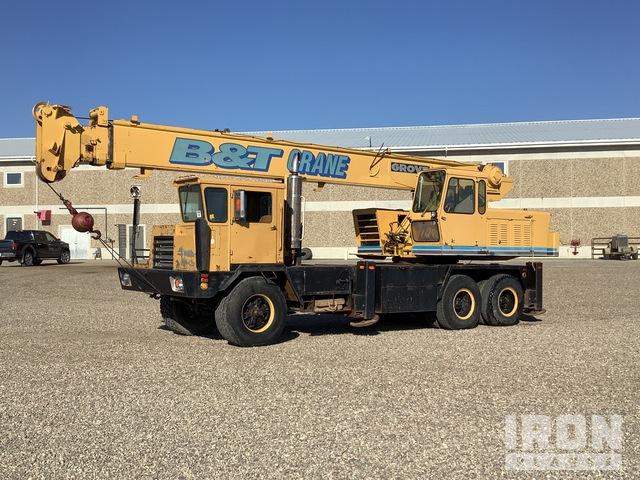 1971 Grove TM-250-S 6x4 Hydraulic Truck Crane, Hydraulic Truck Crane