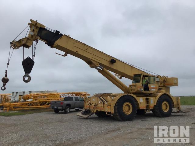 1997 Grove RT880 80 ton Rough Terrain Crane, Rough Terrain Crane