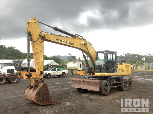 2013 New Holland WE210B Pro Wheel Excavator, Mobile Excavator