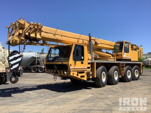 1991 Krupp KMK4070 Hydraulic Truck Crane, Hydraulic Truck Crane