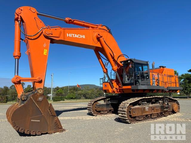 2018 Hitachi EX1200-6 Track Excavator, Hydraulic Excavator