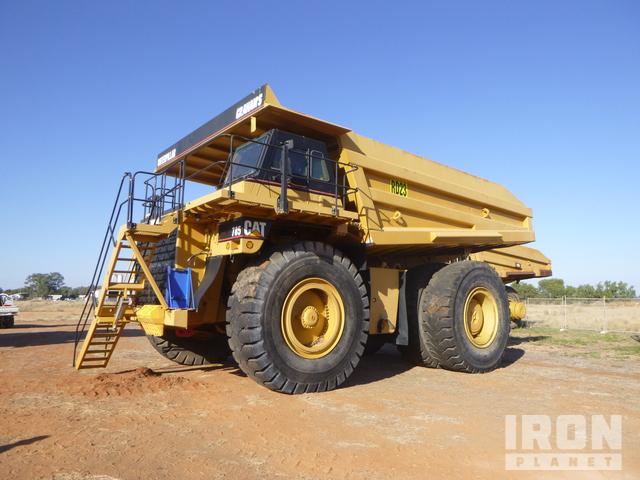 1992 Cat 785 Off-Road End Dump Truck, Rock Truck