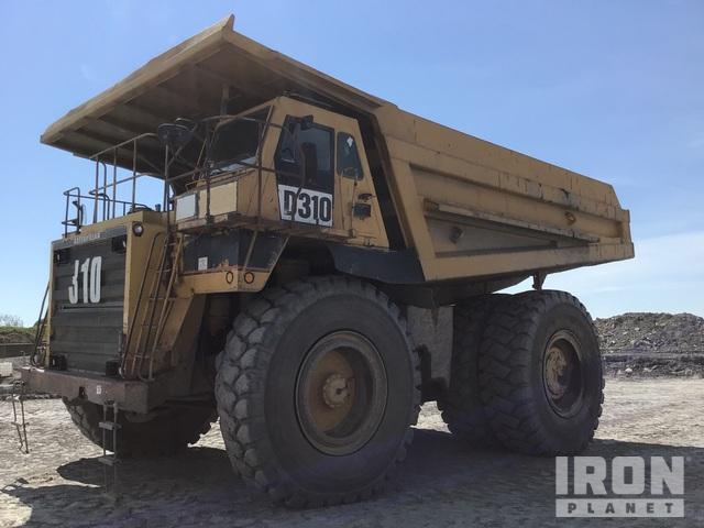 1991 Cat 785 Off-Road End Dump Truck, Rock Truck