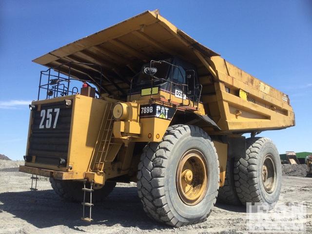 1994 Cat 789B Off-Road End Dump Truck, Rock Truck