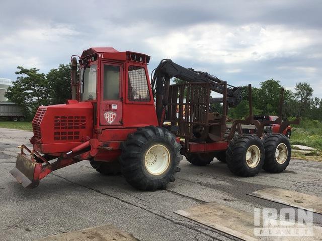 Valmet 646 6x6 Log Forwarder, Forwarder