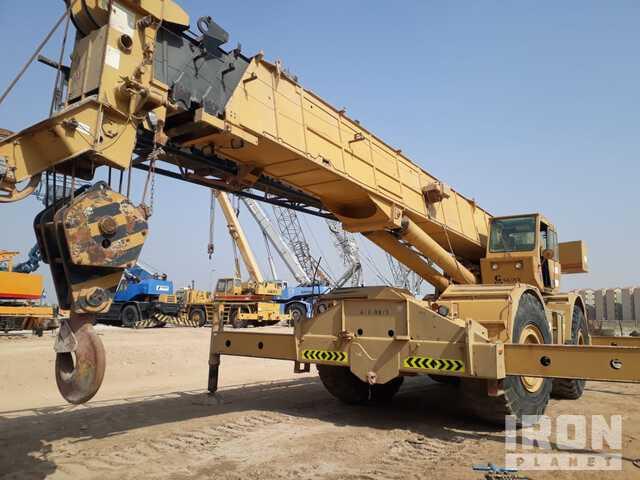Grove RT9100 80 ton 4x4 Rough Terrain Crane, Rough Terrain Crane