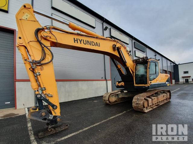 2012 Hyundai Robex 290LC-9 Track Excavator, Hydraulic Excavator