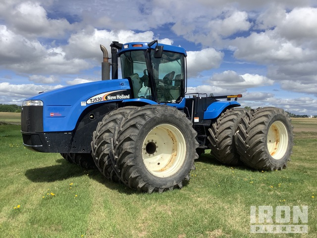2006 New Holland TJ530 4WD Tractor, MFWD Tractor