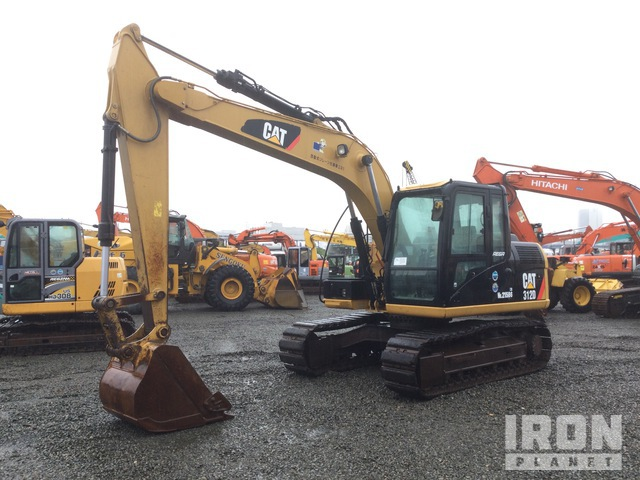 2013 年 Cat 312D Track Excavator, Hydraulic Excavator