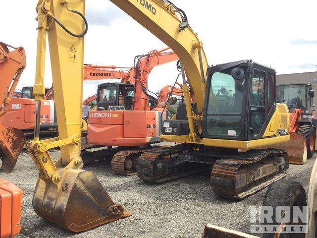 2016 年 Sumitomo SH120-6 Track Excavator, Hydraulic Excavator