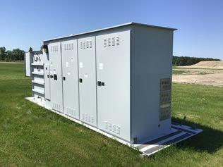 Attrezzatura distribuzione elettrica