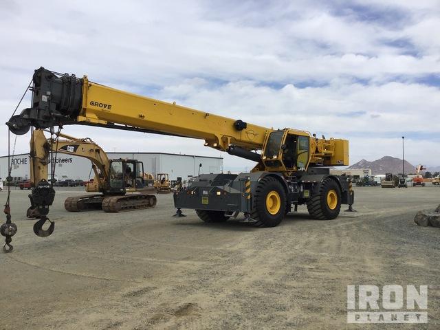 2014 Grove RT765E-2 4x4 Rough Terrain Crane, Rough Terrain Crane