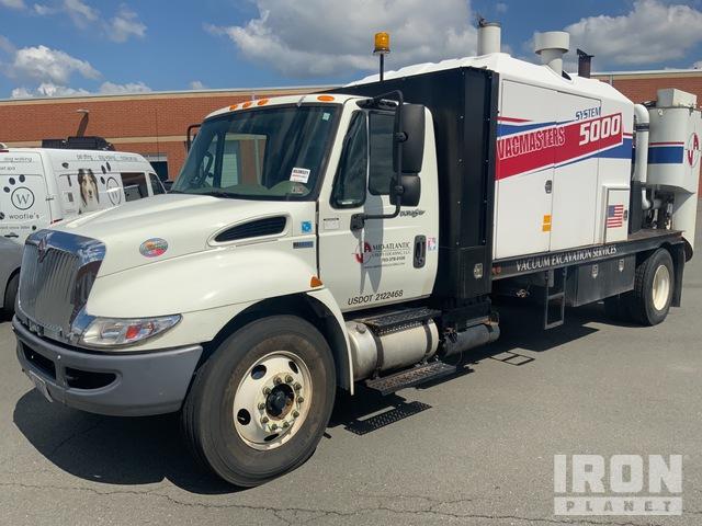 VacMasters S5000 on 2014 International 4300 4x2 Vacuum Excavator Truck, Vacuum Truck