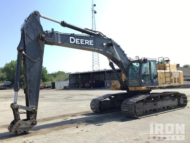 2011 John Deere 450D LC Track Excavator, Hydraulic Excavator