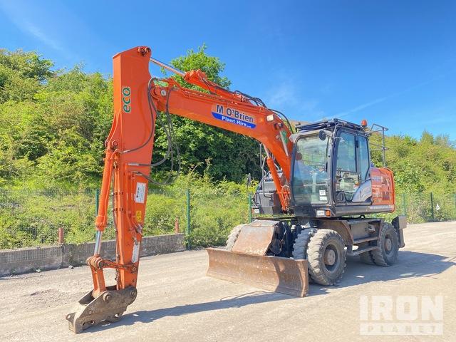 2015 Hitachi ZX140W-5B Wheel Excavator, Mobile Excavator