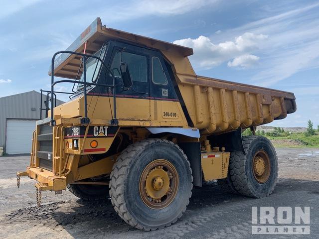 1989 Cat 769C Off-Road End Dump Truck, Rock Truck