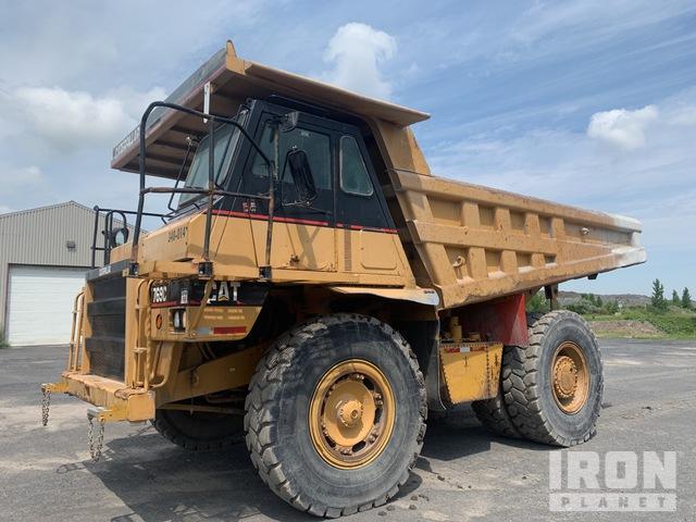 1990 Cat 769C Off-Road End Dump Truck, Rock Truck
