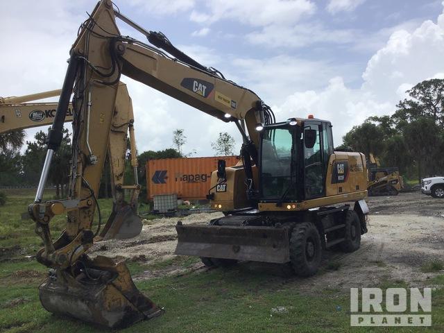 Cat M320F Wheel Excavator, Mobile Excavator