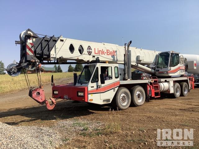 1998 Link-Belt HTC8660 120000 lb Hydraulic Truck Crane, Hydraulic Truck Crane