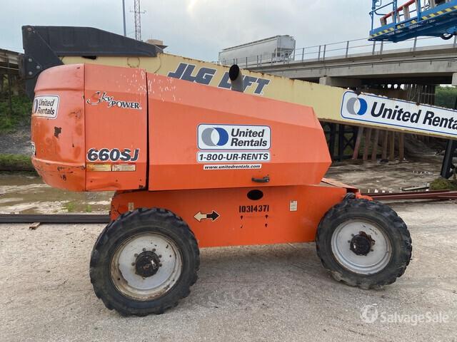 2014 JLG 660SJ 4WD Diesel Telescopic Boom Lift, Boom Lift