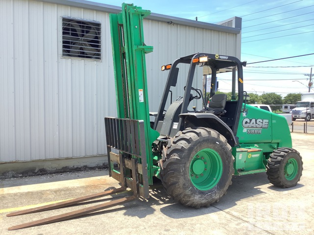 2014 (unverified) Case 588H 4x4 Rough Terrain Forklift, Rough Terrain Forklift