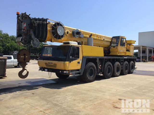 2008 Grove GMK5100 Hydraulic Truck Crane, Hydraulic Truck Crane