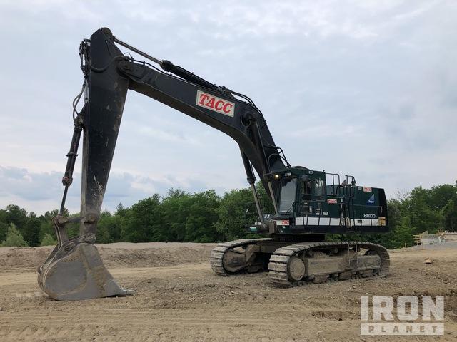 Hitachi EX1100 Track Excavator, Hydraulic Excavator