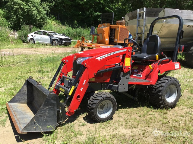 2020 Massey Ferguson GC1723E 4WD Utility Tractor, Parts/Stationary Construction-Other