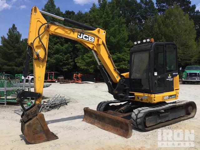 2015 (unverified) JCB 85Z-1 Mini Excavator, Mini Excavator (1 - 4.9 Tons)