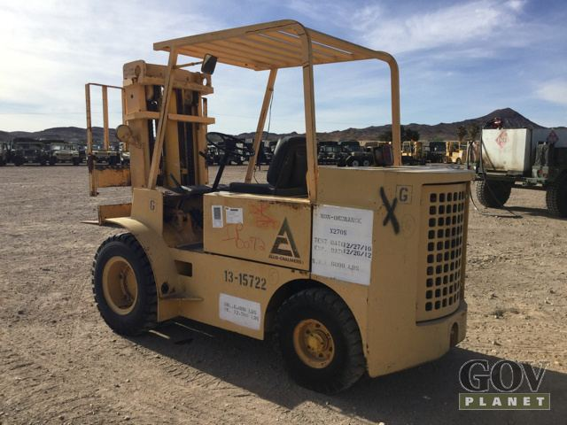 Surplus Allis Chalmers ACP 60B Pneumatic Tire Forklift in