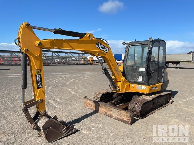 2017 JCB 8061 Mini Excavator, Mini Excavator (1 - 4.9 Tons)