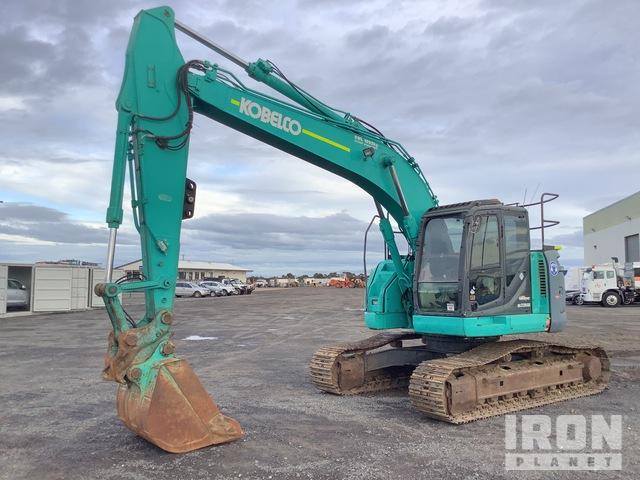 Kobelco SK235SR Track Excavator, Hydraulic Excavator