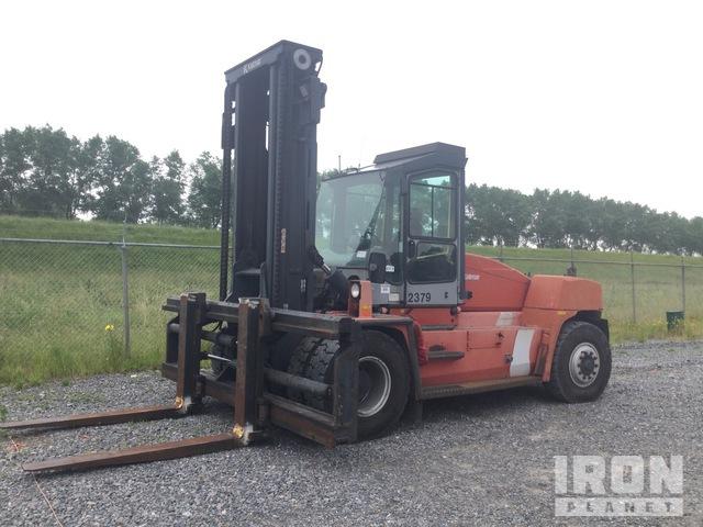 2005 Kalmar DCE160-12 16000 kg Pneumatic Tire Forklift, Forklift