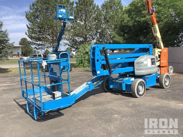 2014 Genie Z45/25 Electric Articulating Boom Lift, Boom Lift
