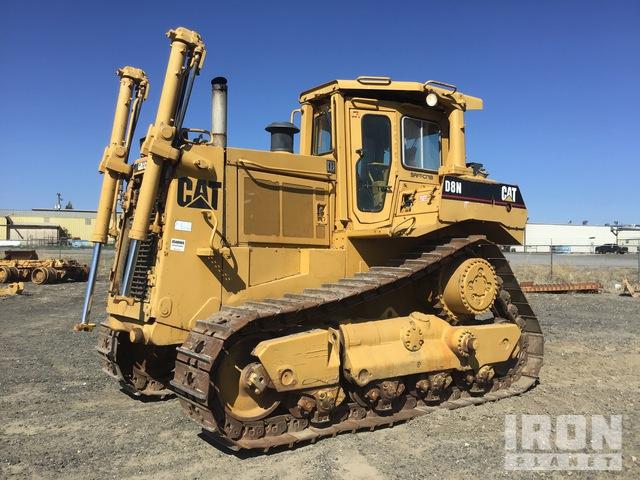 1989 Cat D8N Crawler Dozer, Crawler Tractor