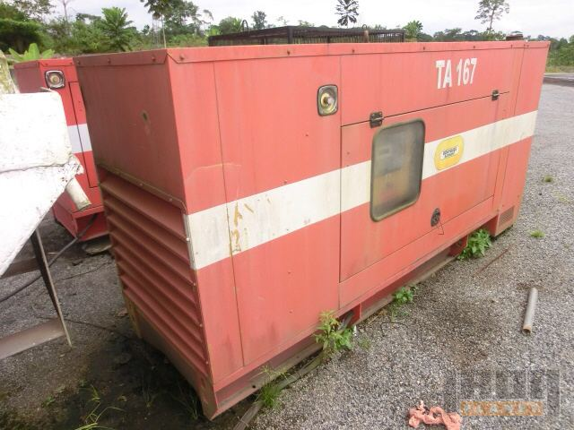 2008 Olympian GEP150-2 Generator in FAS Bata Port, Equatorial Guinea