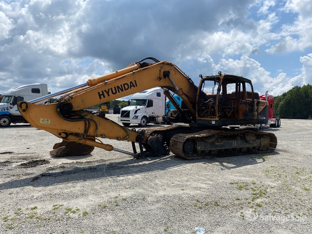 2017 (unverified) Hyundai Robex 260 LC-9A Track Excavator, Parts/Stationary Construction-Other
