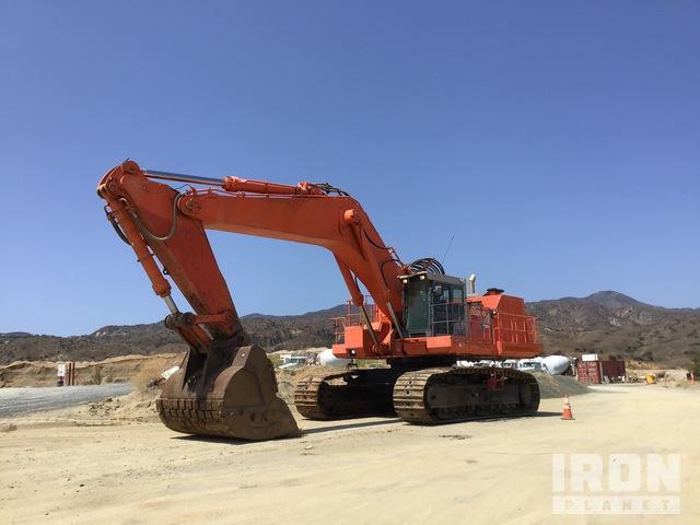 2007 Hitachi EX1200-5D Track Excavator, Hydraulic Excavator