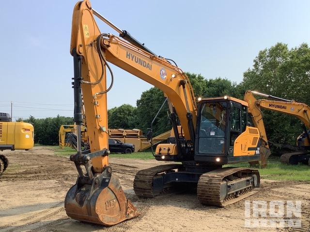 2019 Hyundai HX160L Track Excavator, Hydraulic Excavator