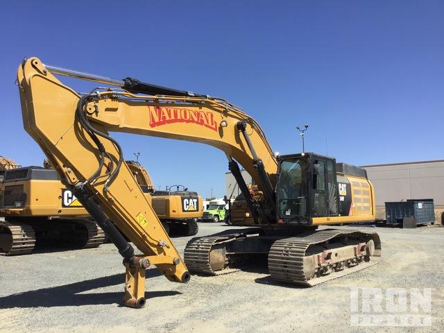 2016 Cat 349F L Track Excavator, Hydraulic Excavator